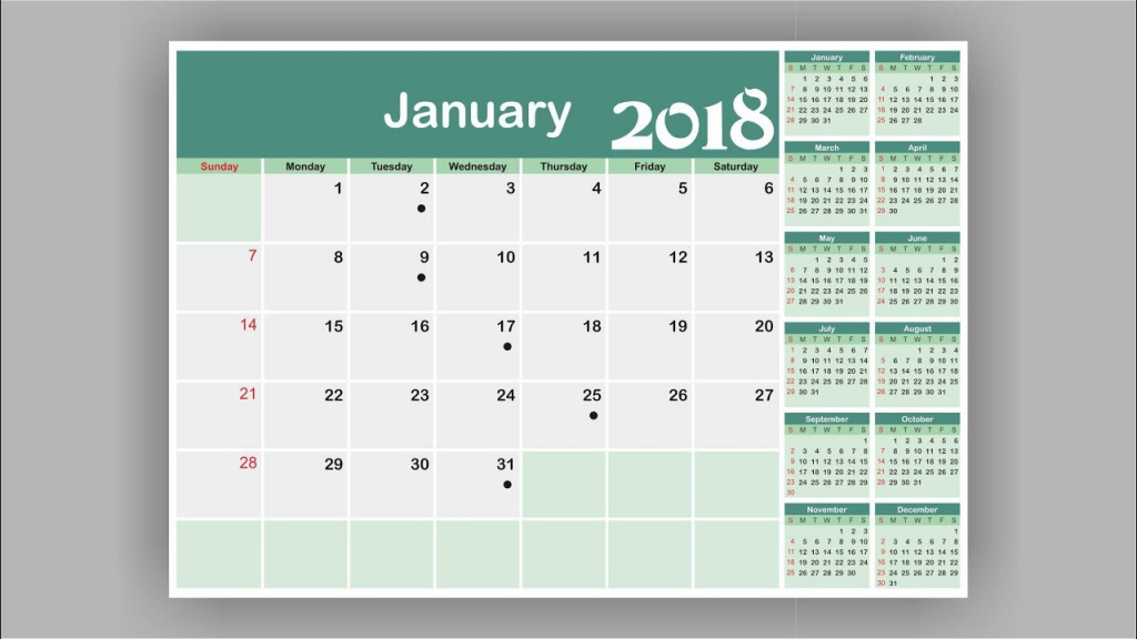 How To Create A Calendar Coreldraw Tutorial Calendar