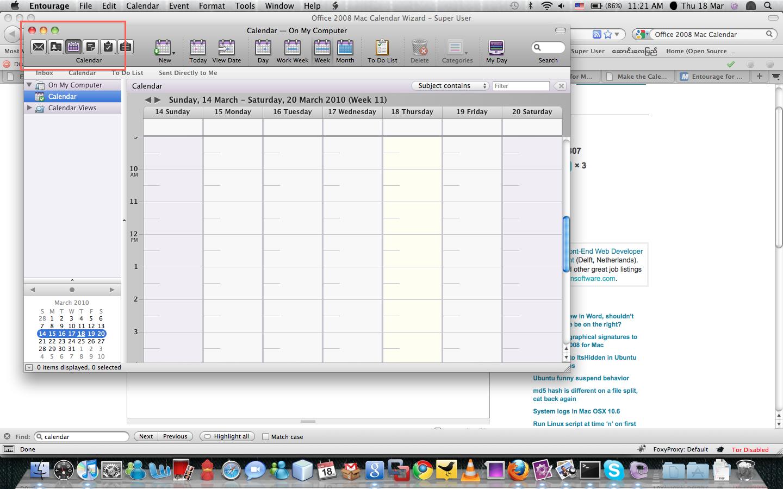 Macos Office 2008 Mac Calendar Wizard Super User