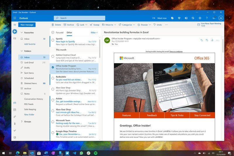 Microsoft Is Building A New Outlook App For Windows And