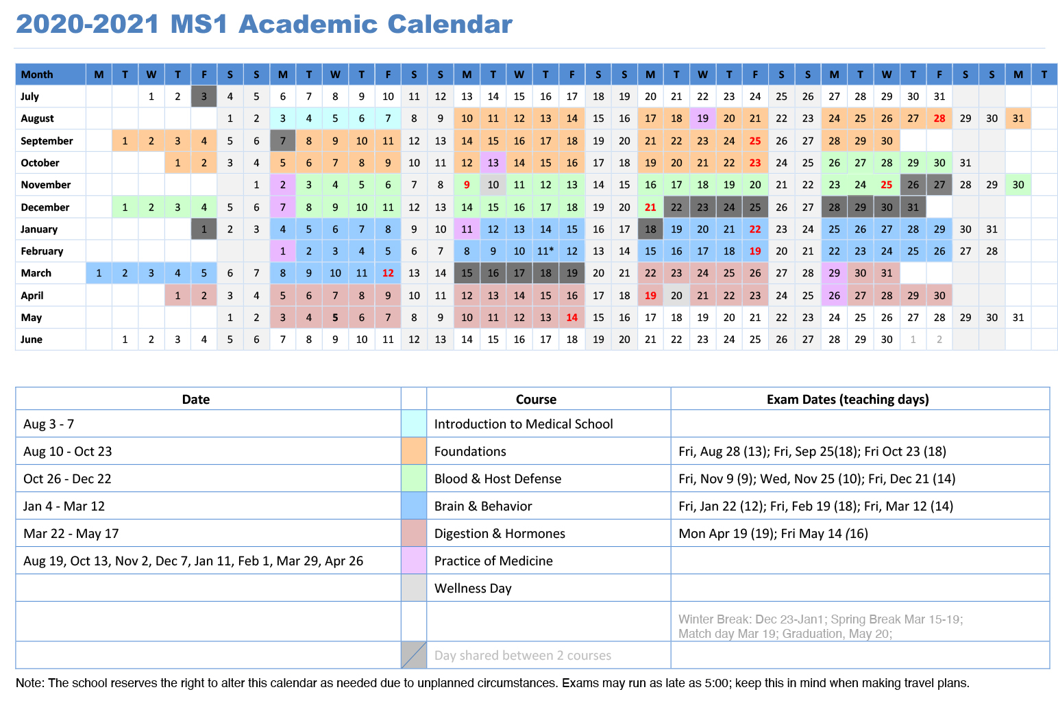 Millersville Academic Calendar Spring 2021