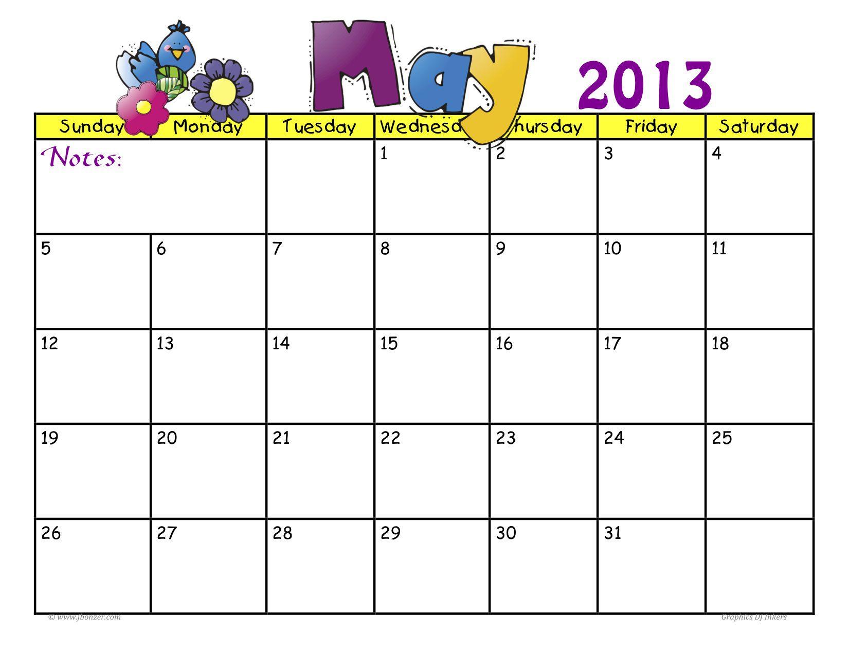 Ms Word Calendar Templates Calendar Template Printable