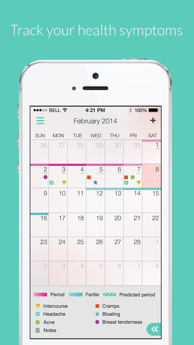 Ovulation And Fertility Calendar Calendar Template 2019
