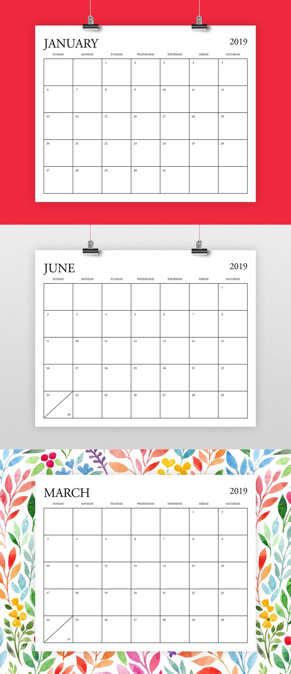 Pick 8 5 X 11 Calendar Template Calendar Printables Free