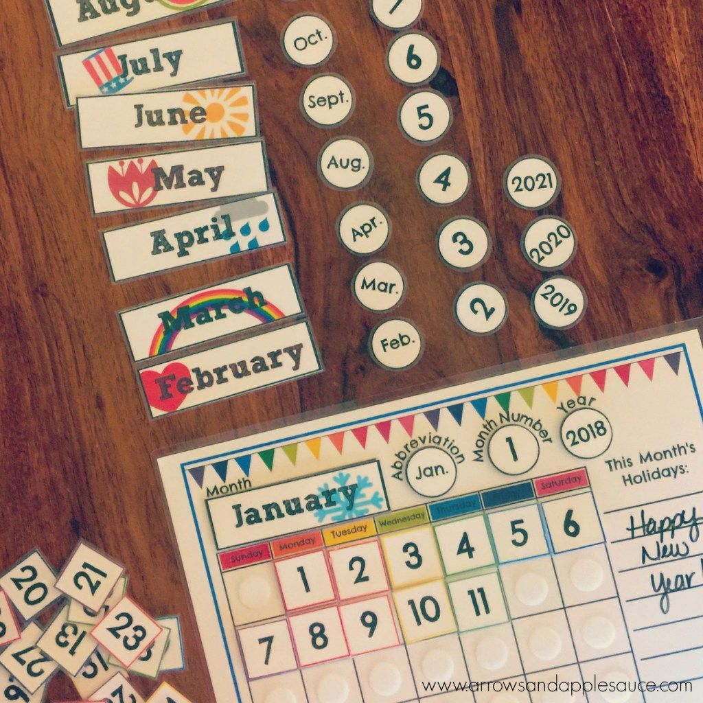 Preschool Morning Binder Classroom Calendar Circle Time