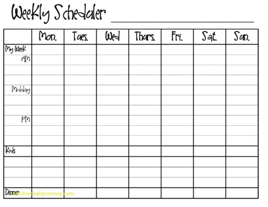 Printable Calendar Monday To Sunday Ten Free Printable