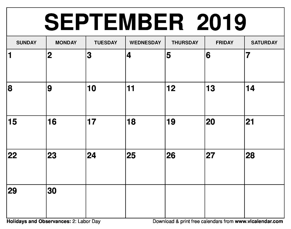 Printable Calendar Next 30 Days In 2020 Printable
