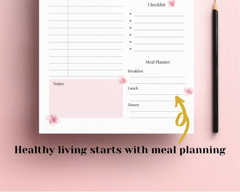 Printable Daily Planner 2020 2021 Hourly Planner Day Etsy 1