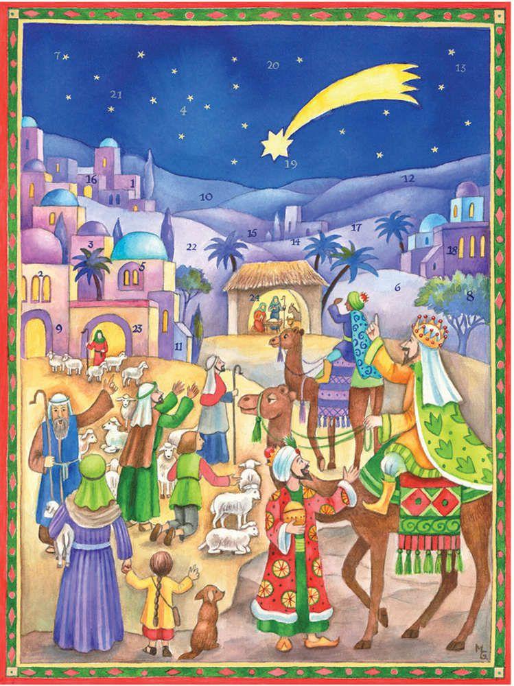 Richard Sellmer Traditional Advent Calendar Three Kings