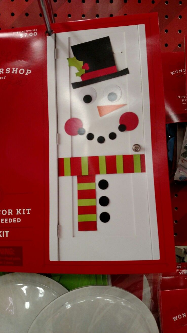 This Was A Door Decorating Kit Sold At Target This Year