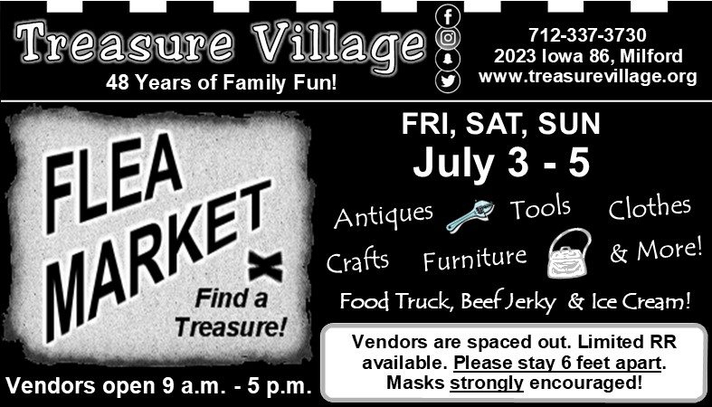 Treasure Village Antique Flea Market Vacation Okoboji