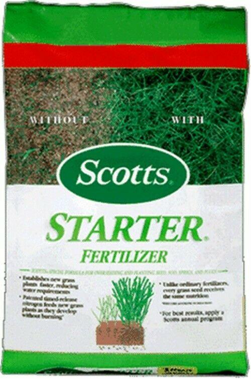 Turf Builder Starter Fertilizerno 21701 Scotts Lawns Ebay