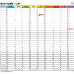 universal 5 year calendar template get your calendar
