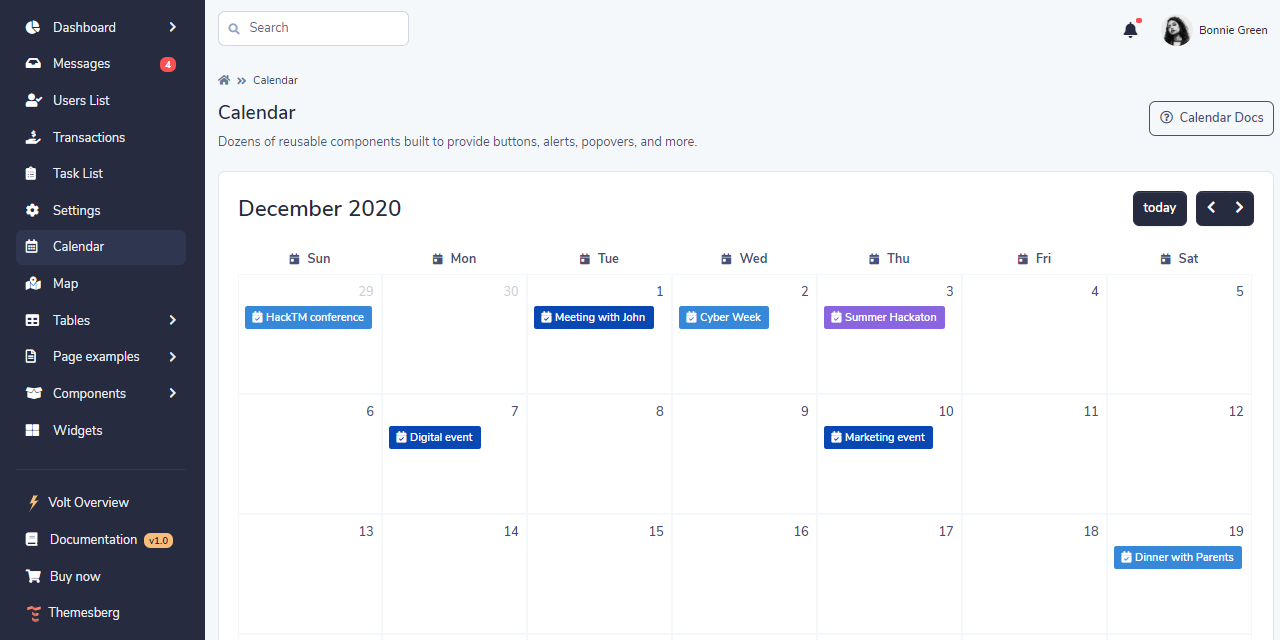 Volt Dashboard Pro Premium Bootstrap 5 Template