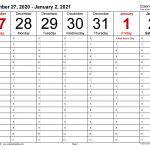 weekly calendars 2021 for pdf 12 free printable templates