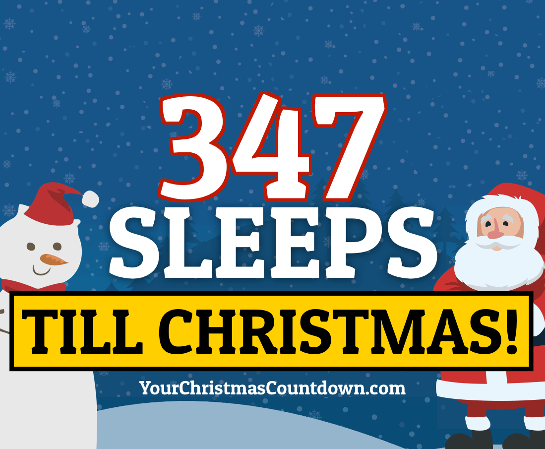 Your Christmas Countdown 2021 Days Until Christmas