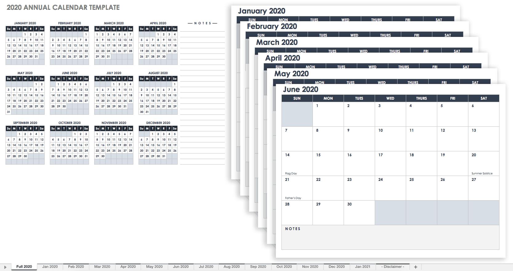 11 X 17 Calendar Free Calendar Template