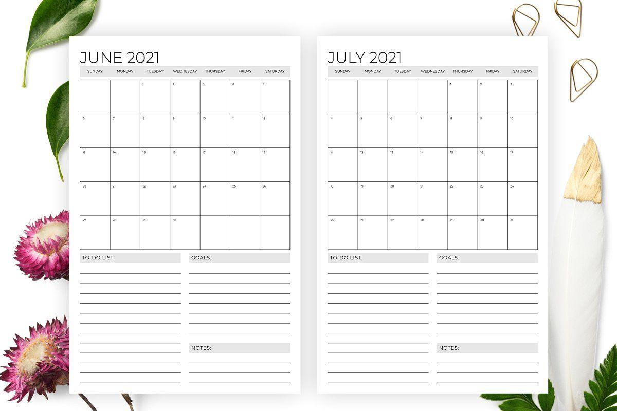 11 X 17 Calendar Printable Calendar Template 2020