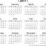 2017 Calendar Download