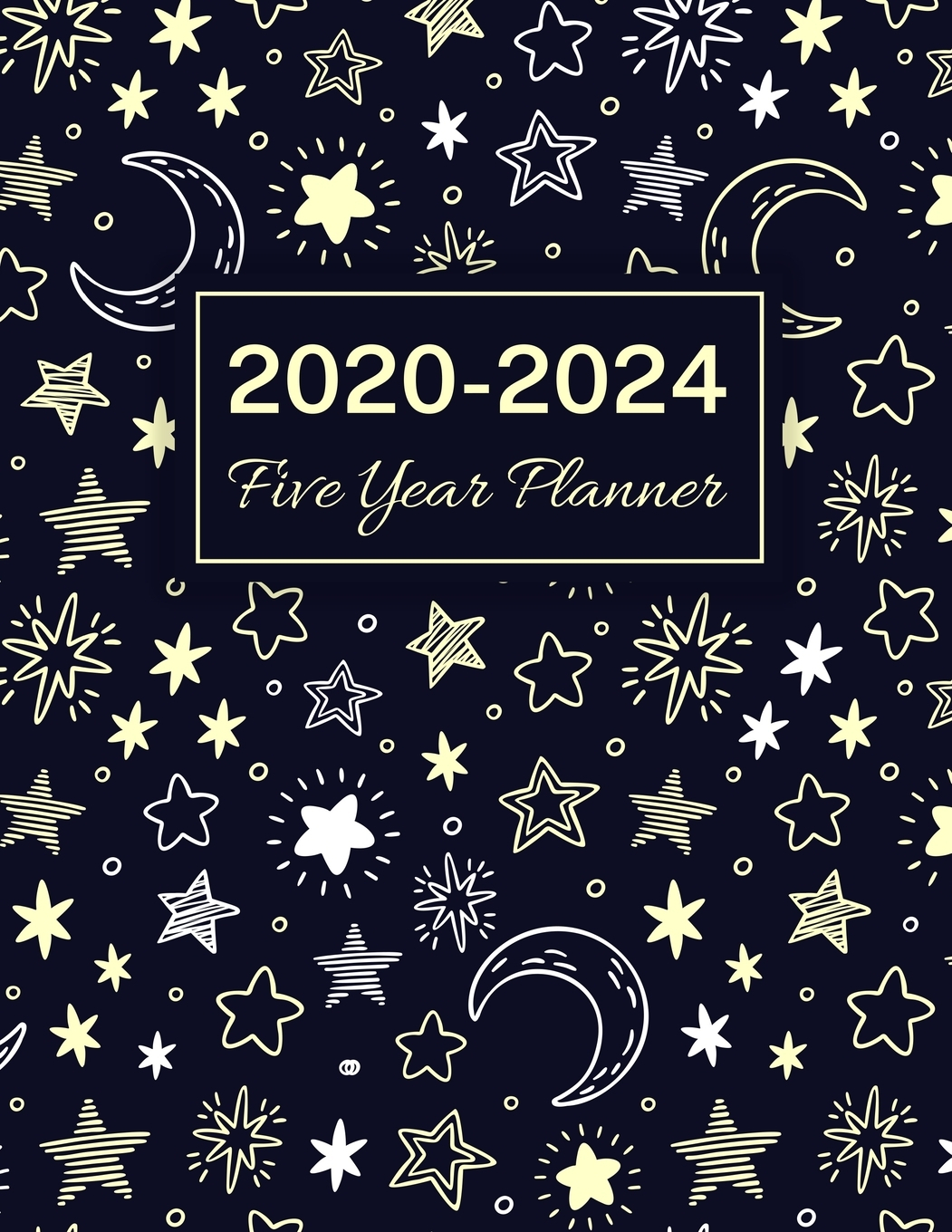 2020 2024 Five Year Planner Starry Sky 60 Months