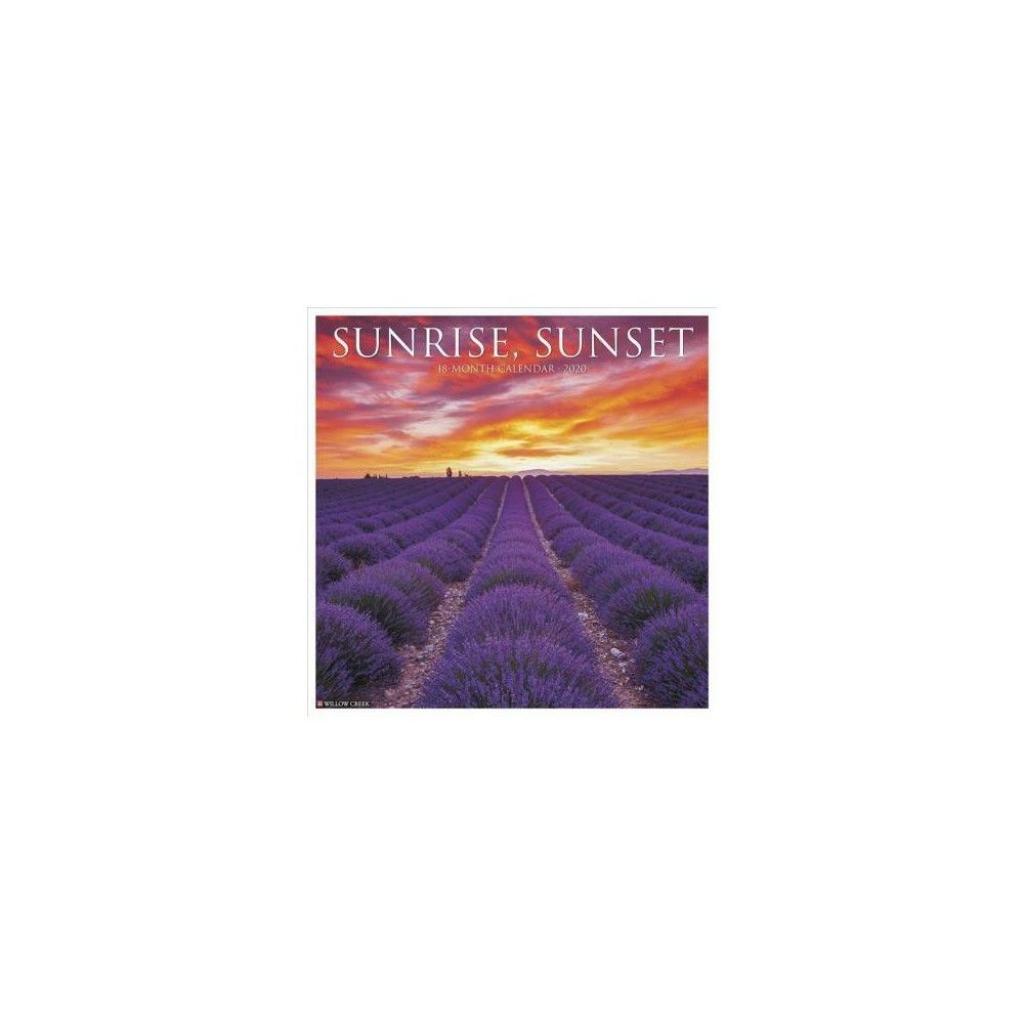2020 Sunrise Sunset Monthly Calendar Calendar Template 2021