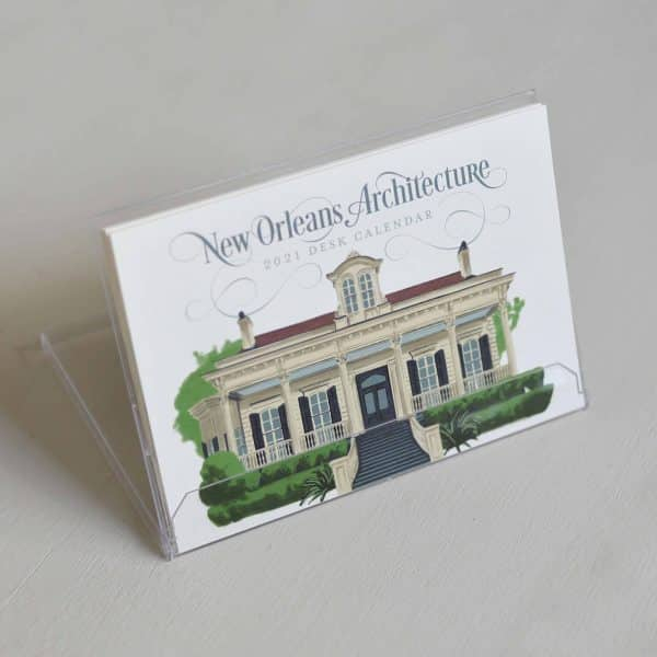 2021 New Orleans Architecture Calendar Scriptura