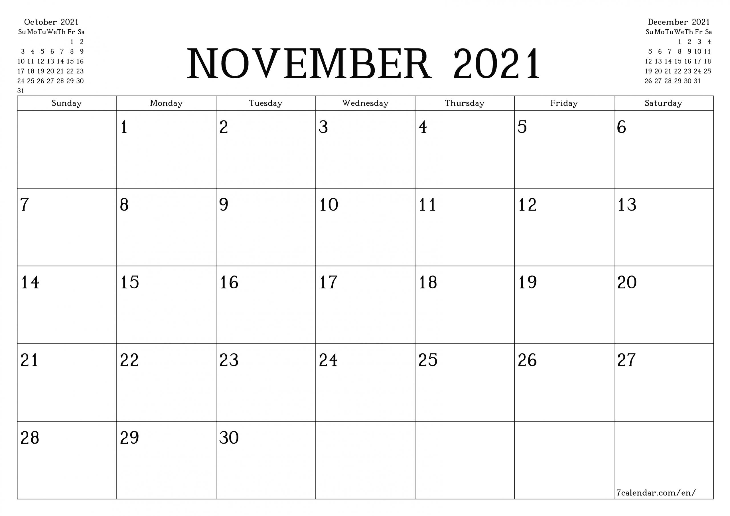 5 X 7 Printable Calendar 2021 6 Months Printable