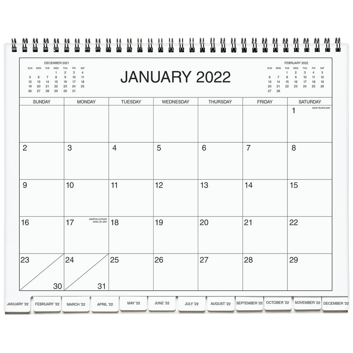 5 Year Appointment Calendar Planner Monthly Schedule