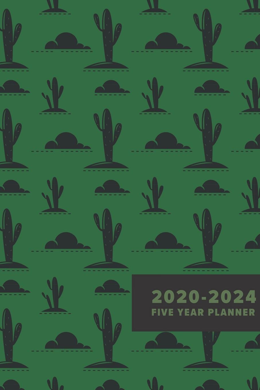 5 Year Calendar Planner 2020 2024 Five Year Planner Five