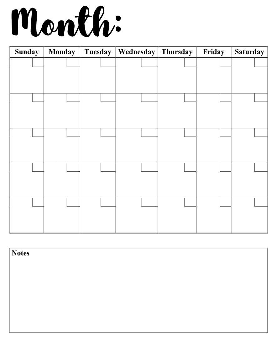 7 Best Weekly Calendar Template Printable Printablee 1