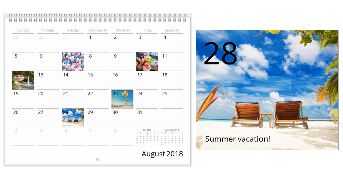 7 Ideas To Make A Great Personalized Calendar Mimeo