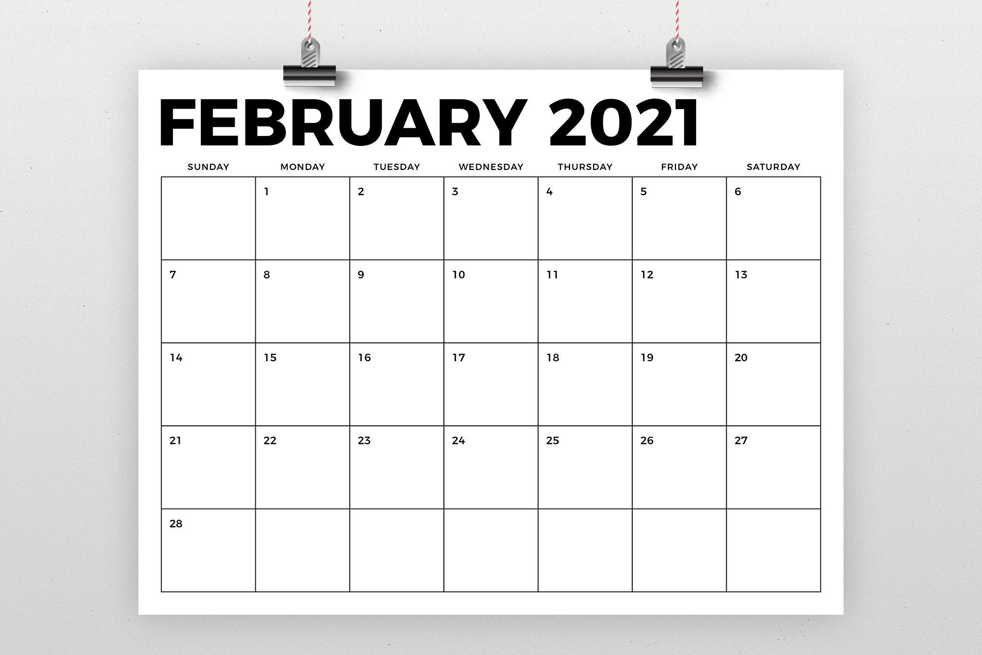 8 5 X 11 Inch Bold 2021 Calendar 438443 Flyers