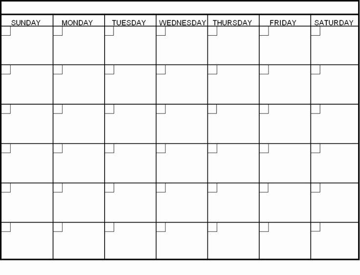 Blank Calendar Pdf Printable Blank Calendar Template Pdf