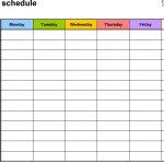 calendar fill in templates calendar template printable