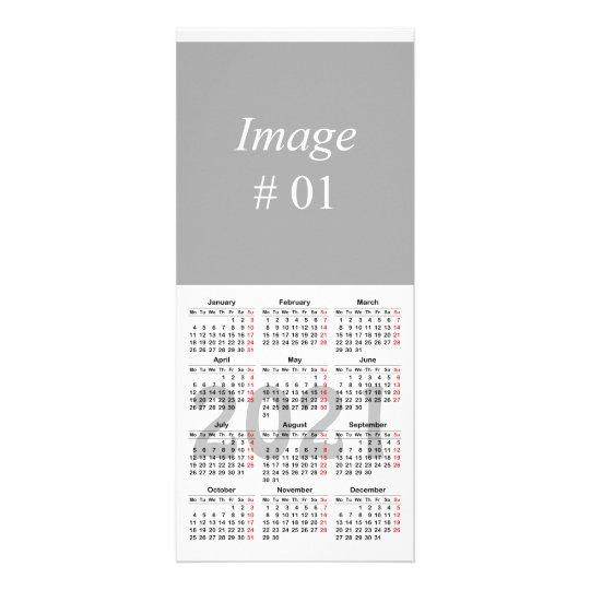 Create Your Own 2021 Calendar Rack Card Zazzle Co Uk