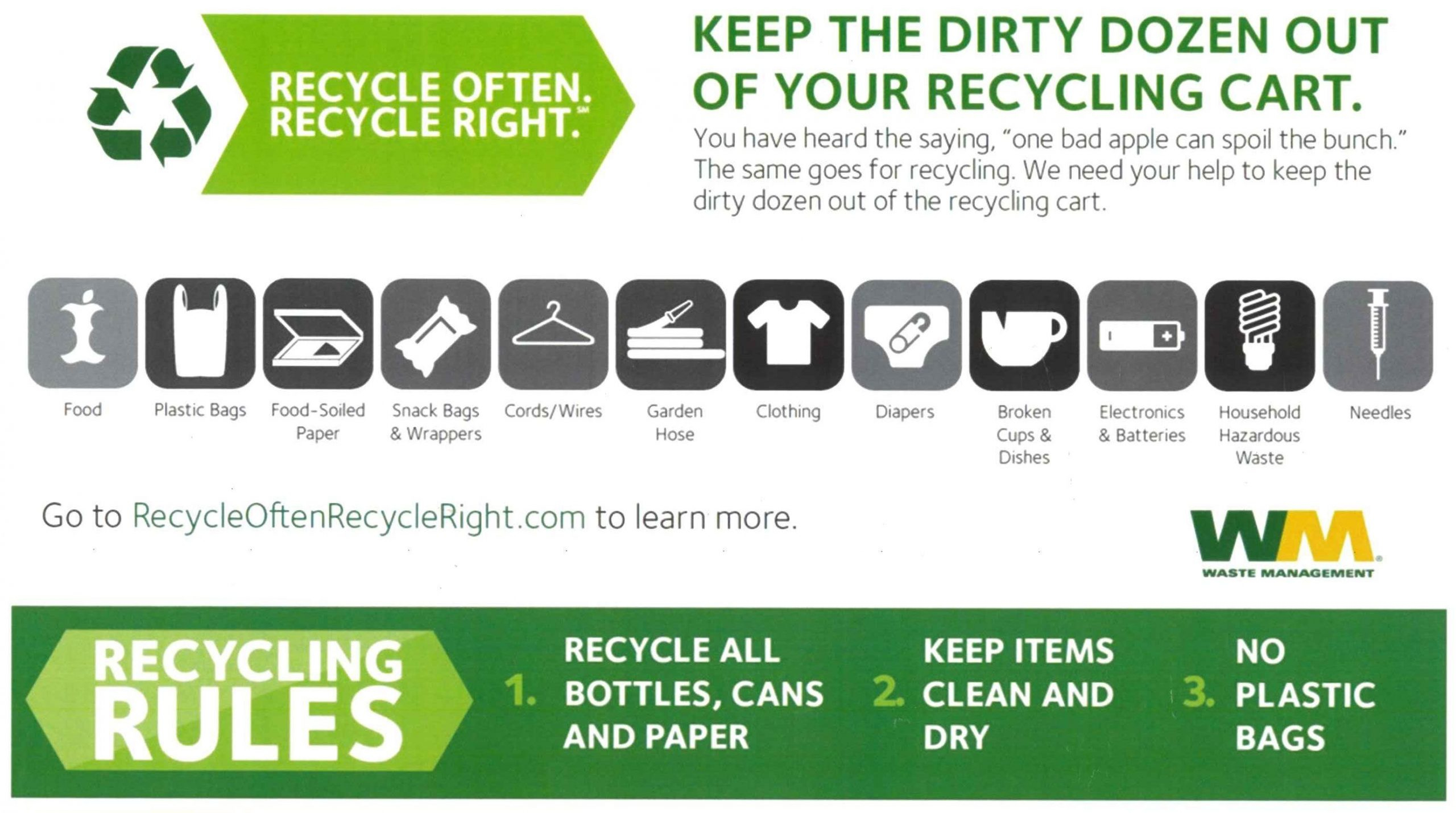 Create Your Republic 2021 Recycle Calendar K Get Your