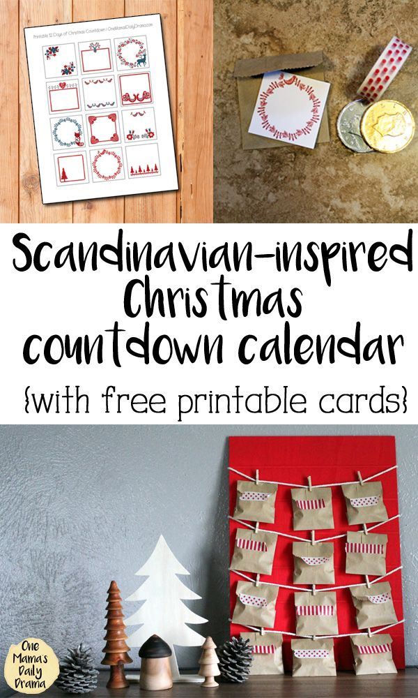 Diy 12 Days Of Christmas Countdown Calendar With Images