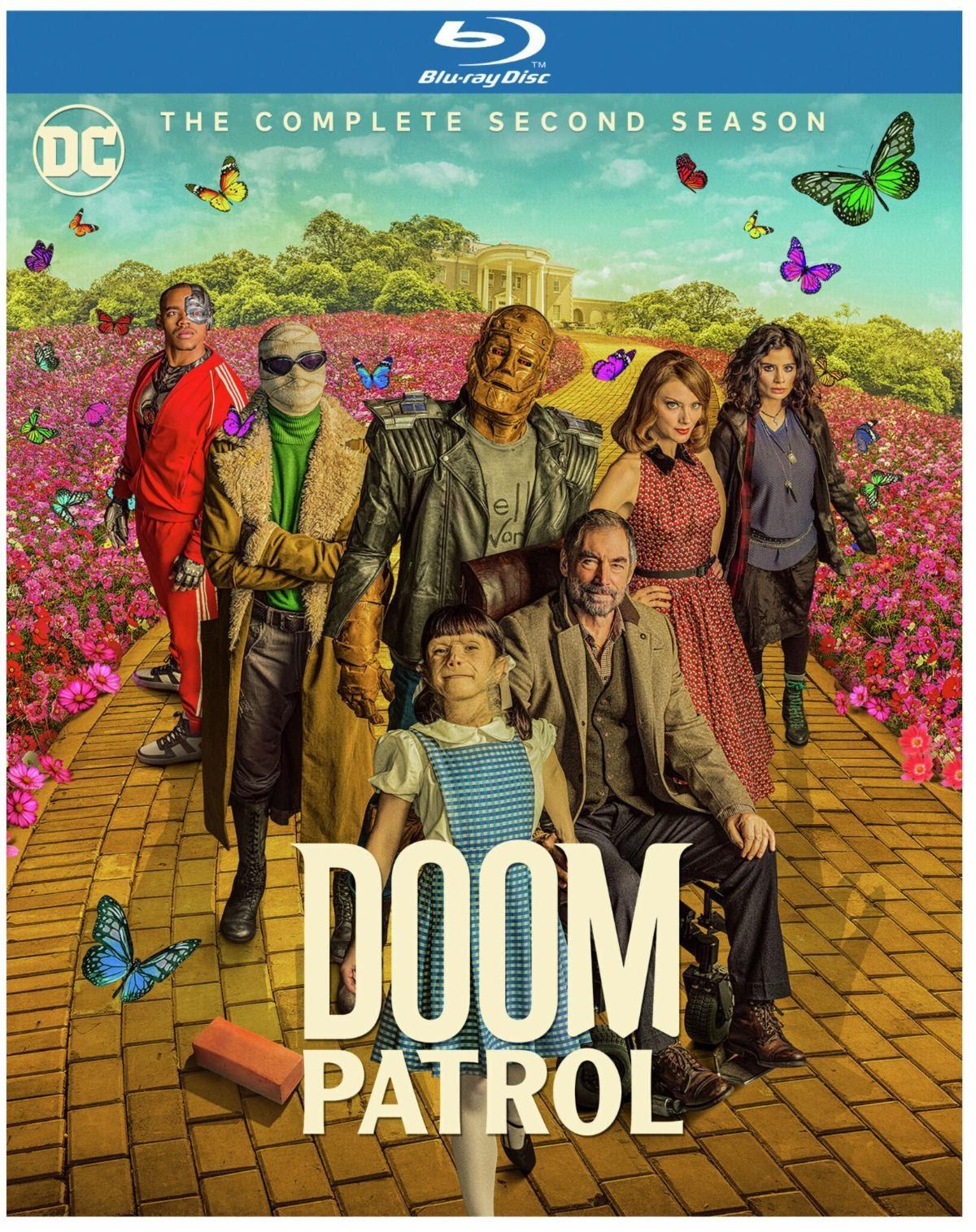 Doom Patrol Season Two On Blu Ray Dvd January 26 2021