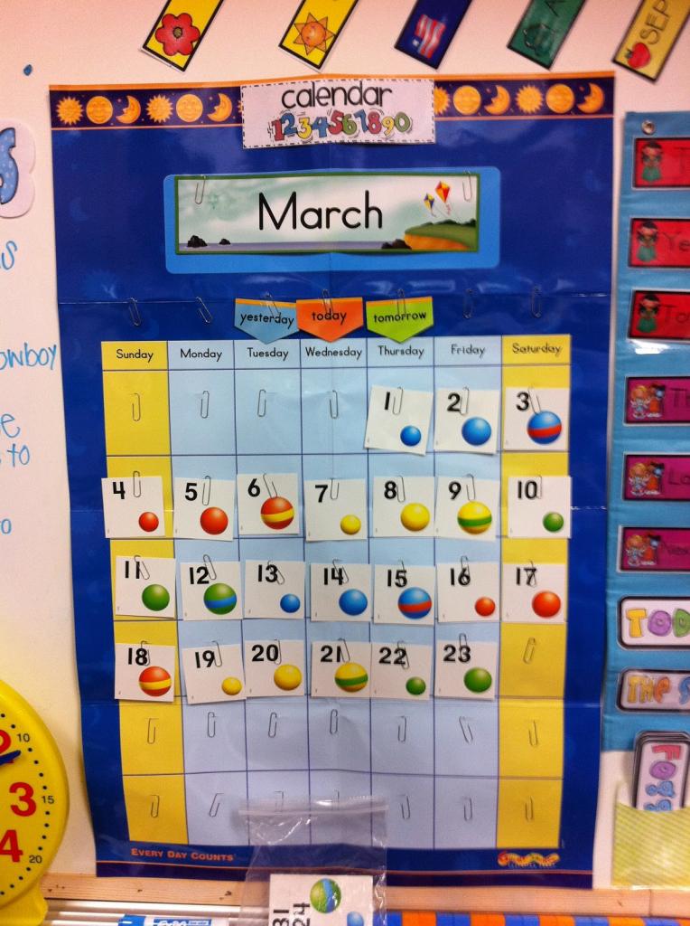Every Day Counts Calendar Math 1st Grade Calendar