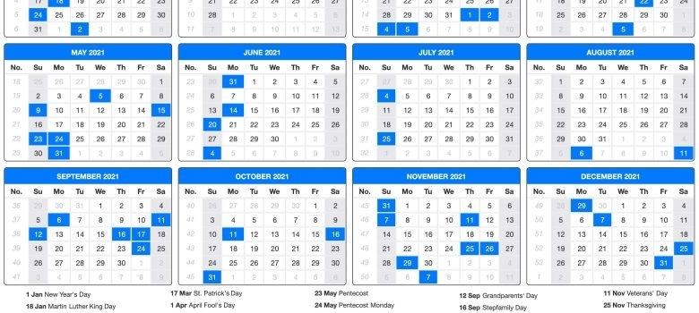 Federal Pay Periods 2021 Calendar Printable Calendar