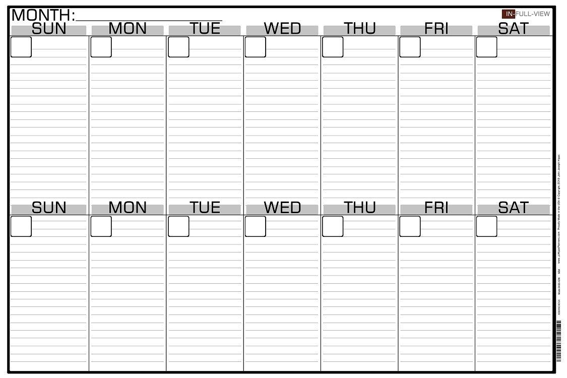 Free 2 Week Calendar Month Calendar Printable