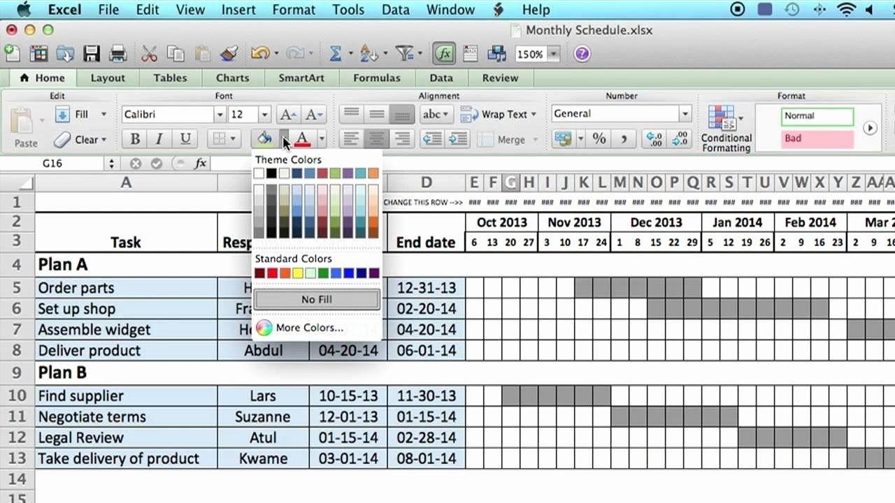 Free Microsoft Access Schedule Template Calendar