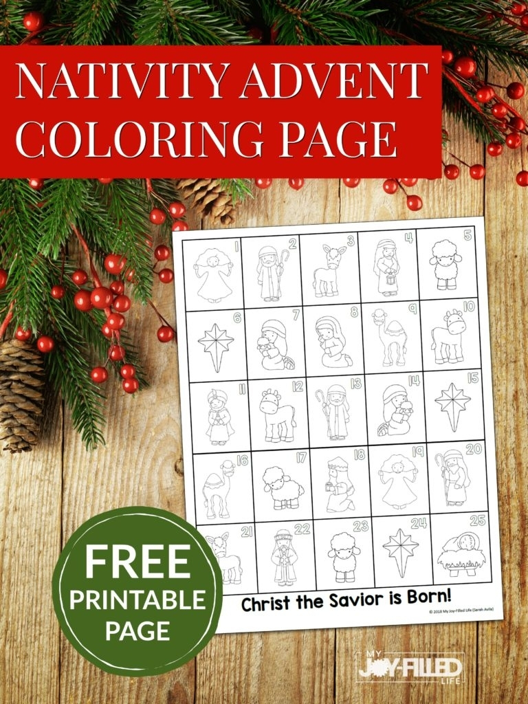 Free Printable Calendar Advent Ten Free Printable
