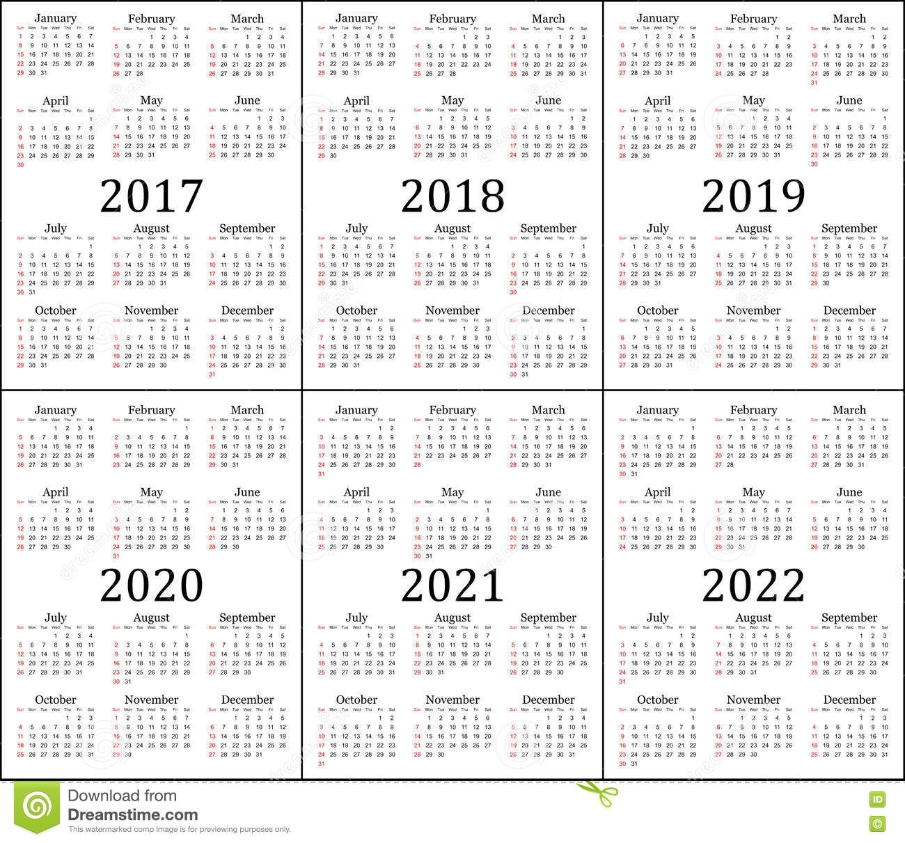 Free Printable Calendars 3 Year Ten Free Printable