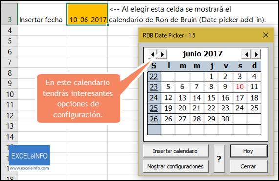 Guia Definitiva Para El Uso De Calendarios En Excel