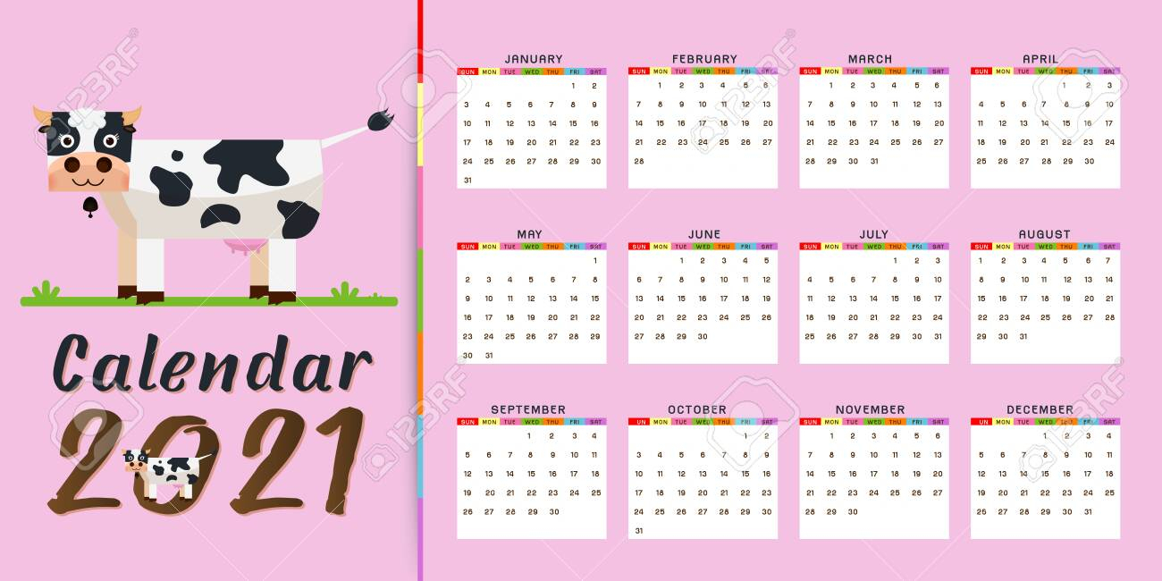 Hello Kitty Calendar Template 2021 Calendar Printables