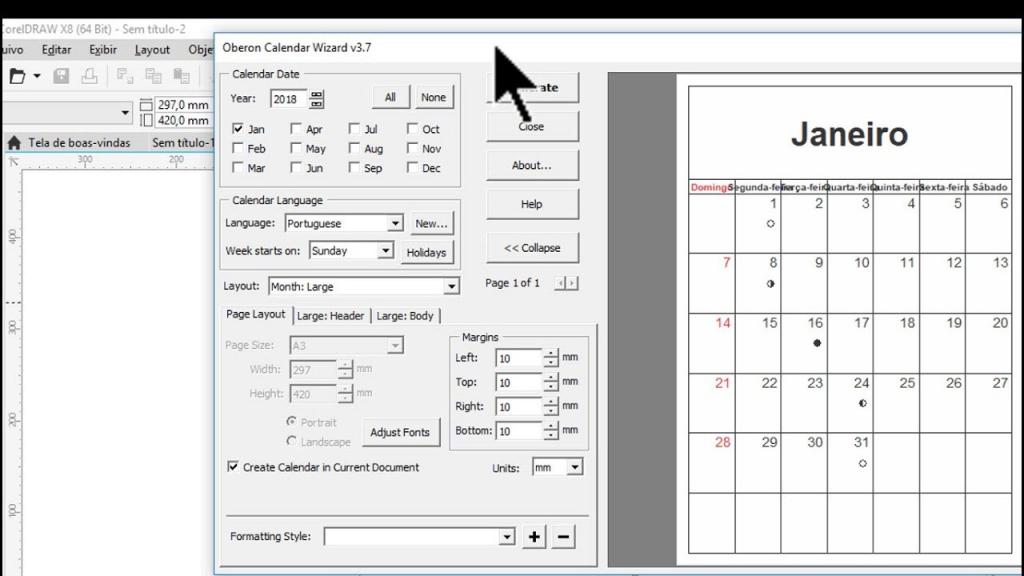 How To Use Calendar Wizard 2020 Calendar Template 2021