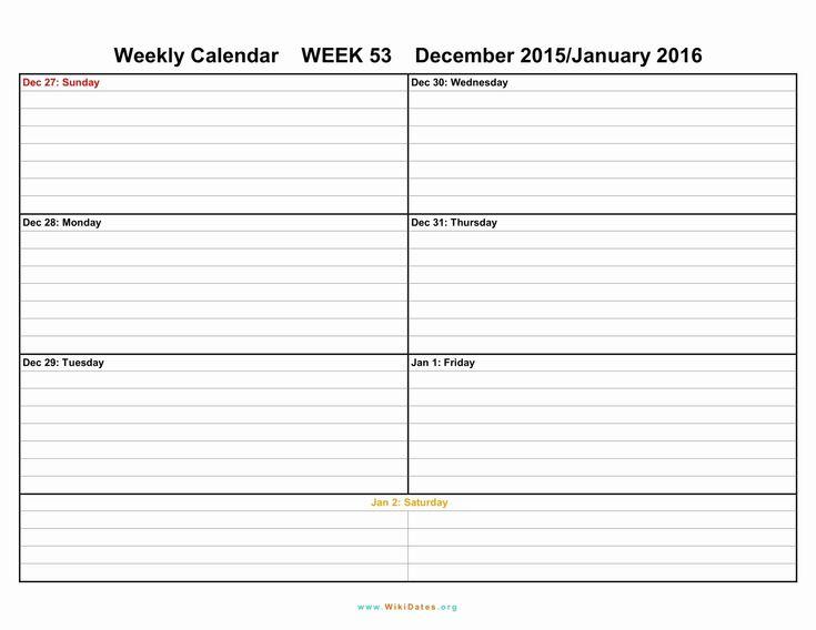Incredible Free 6 Week Blank Calendar Blank Weekly