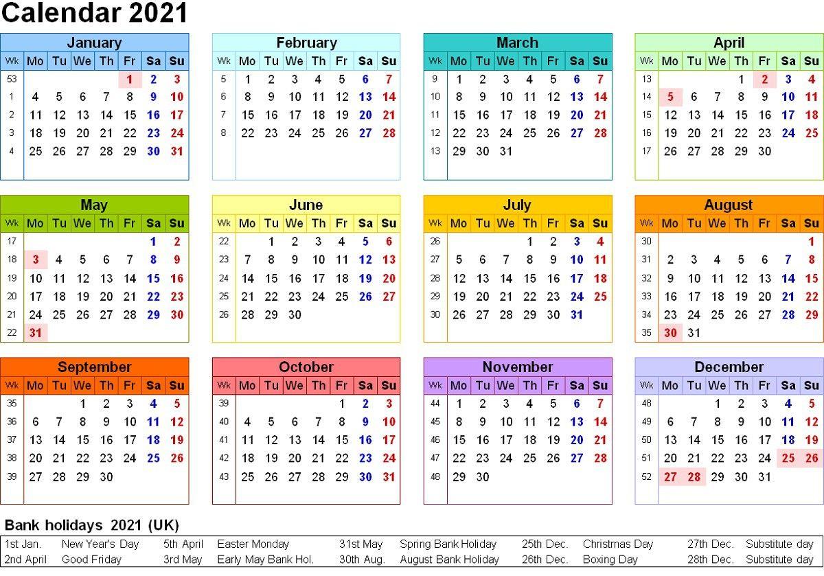 January 2021 Calendar Free Download Printable Calendar Templates