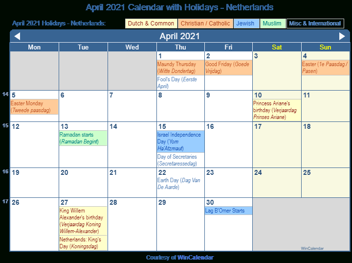 Jewish Calendar April 2021 Calendar 2021
