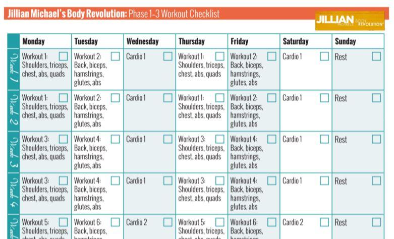 jillian michaels body shred workout schedule eoua blog